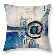 And It's Just Winter Drama  Throw Pillow