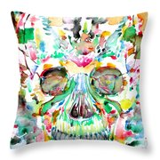 And Joining At Last Its Mighty Origin Throw Pillow