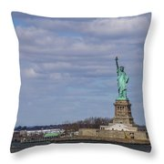 ...and Justice For All Throw Pillow