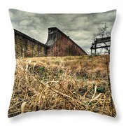 And My Busy Mind Wins Repose Throw Pillow