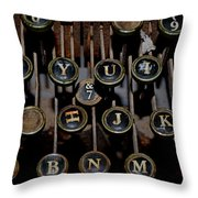 And Seven Throw Pillow