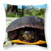 And So I Wait Throw Pillow