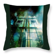 And The Angels Sang Throw Pillow