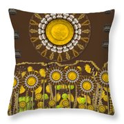 And The Sun Started To Shine Pop Art Throw Pillow