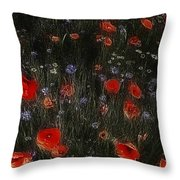 And The Wind Whispered Her Name Throw Pillow