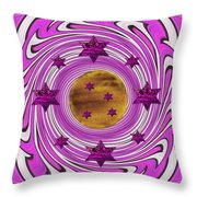 And The World Is Still Round Throw Pillow