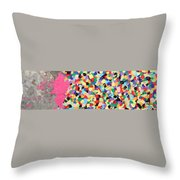 And Then She Kissed Me Throw Pillow