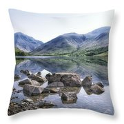And There Was Peace... Throw Pillow