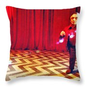 And Theres Always Music In The Air Throw Pillow