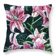 And They Called Her Lily Throw Pillow