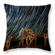 And They Danced Throw Pillow
