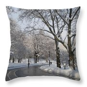 And They Still Workout Throw Pillow