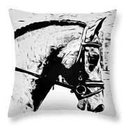 Andalusian Elegance Throw Pillow
