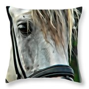 Andalusian Eye Throw Pillow