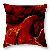 Andalusian Spirit Throw Pillow