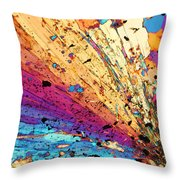 Andalusite Throw Pillow