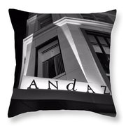 Andaz Hotel On 5th Avenue Throw Pillow