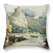 Andely, From Views On The Seine Throw Pillow