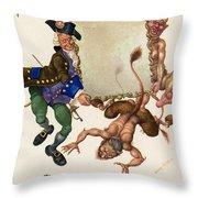 Andersen: Snow Queen Throw Pillow