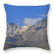 Andes Mountains 1 Throw Pillow