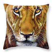 Andre Lion Throw Pillow