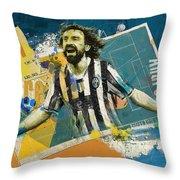 Andrea Pirlo - B Throw Pillow