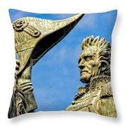 Andrew Jackson  Throw Pillow