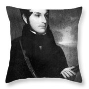 Andrew Jackson, Jr Throw Pillow