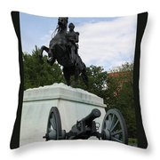 Andrew Jackson Memorial Throw Pillow