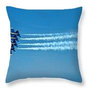 Andrews J B Air Show 12 Throw Pillow