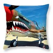 Andrews J B Air Show 3 Throw Pillow