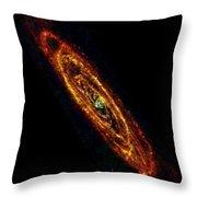 Andromeda Galaxy M31 Throw Pillow