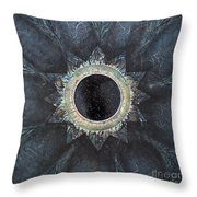 Andromeda Iris Constellation Throw Pillow