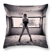 Andromeda Throw Pillow by Stelios Kleanthous