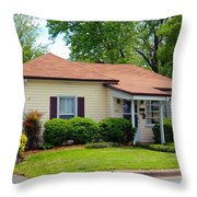 Andy Griffith Homeplace Throw Pillow