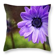 Anemone Kissed Throw Pillow