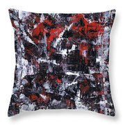 Aneurysm 1 - Triptych Throw Pillow