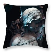 Angel - Alyssa Throw Pillow