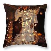 Angel And The Badman Homage 1947 Christmas Parade Coolidge Arizona 2001-2008 Throw Pillow