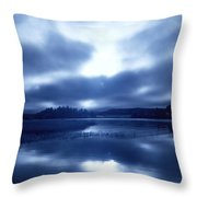 Angel Appearance Throw Pillow