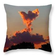 Angel Cloud Throw Pillow