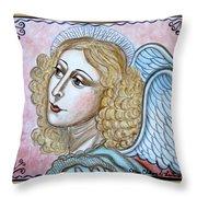 Angel De La Paz Throw Pillow
