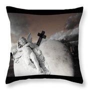 Angel Heart Throw Pillow