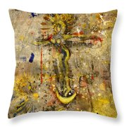 Angel In Journey Throw Pillow