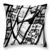 Angel In The Shadows 2 Throw Pillow