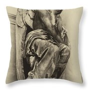 Angel In Waiting 1 Throw Pillow