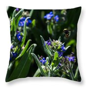 Angel Island Bee Throw Pillow