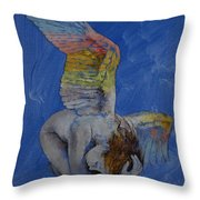 Angel Throw Pillow by Michael Creese