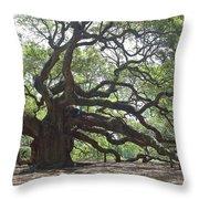 Angel Oak II Throw Pillow