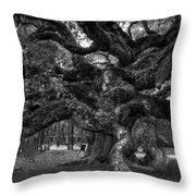 Angel Oak Tree 2 Throw Pillow